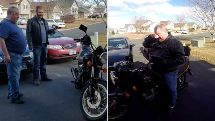 Emotional Moment Bike Restoration Is Unveiled