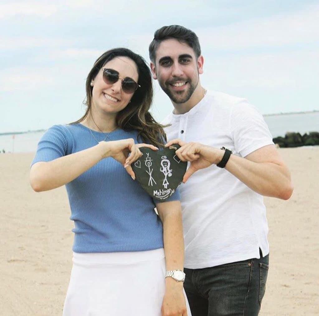 Magic proposal couple