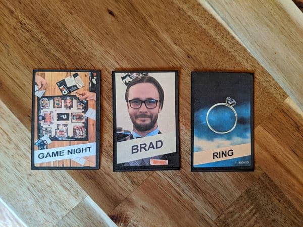 Game night cards