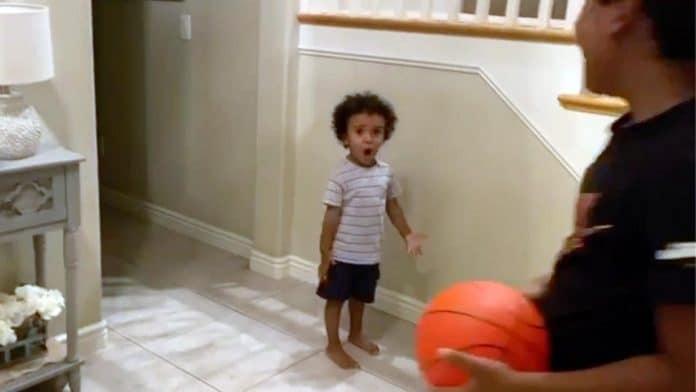 toddler disputes traveling call