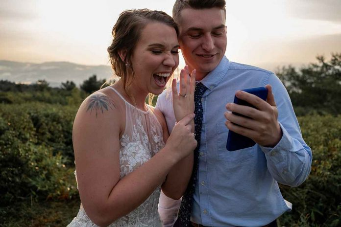 faux wedding proposal