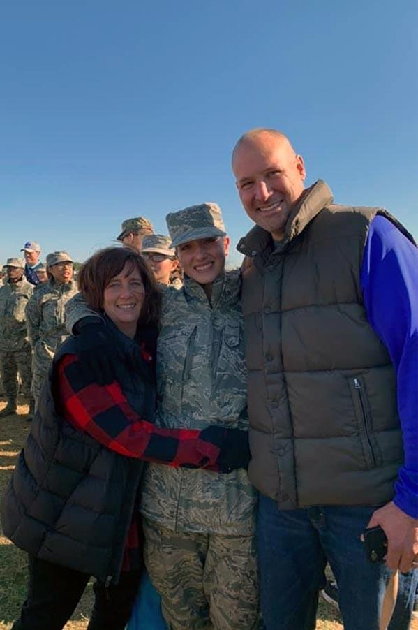 Air force daughter