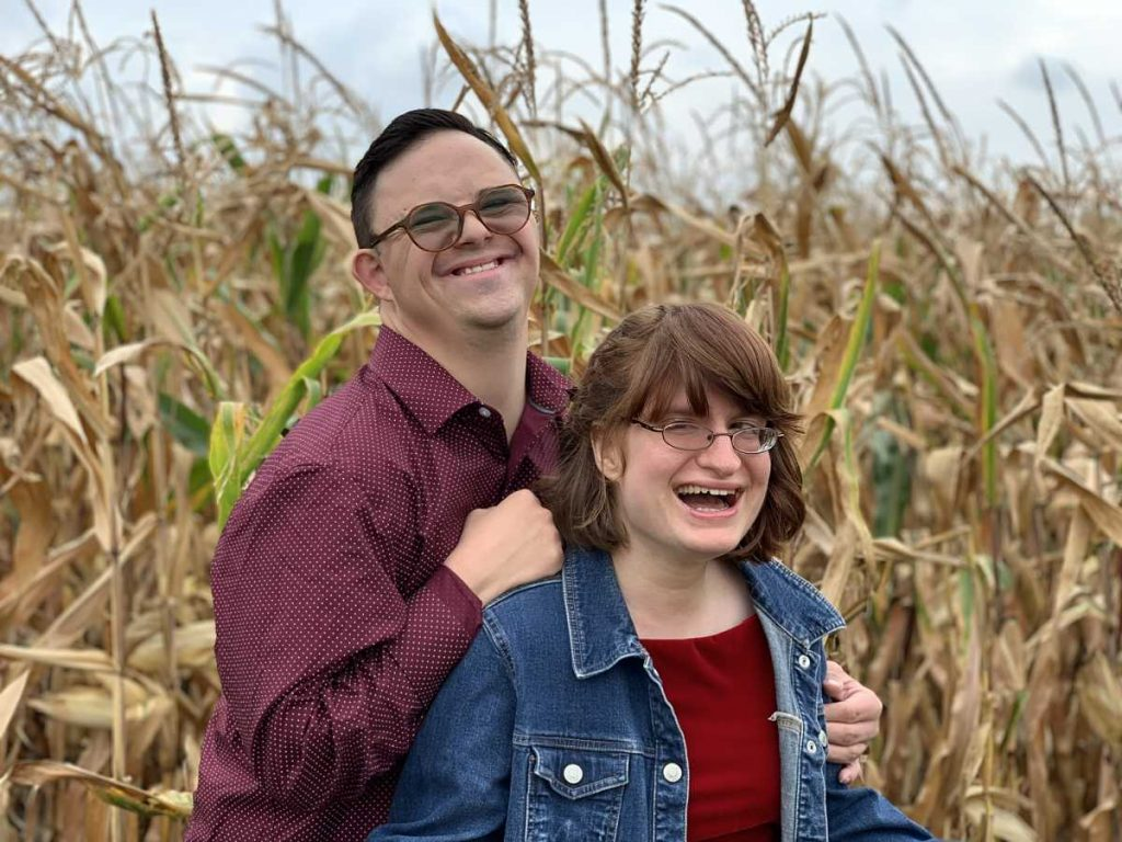 special needs couple reunited