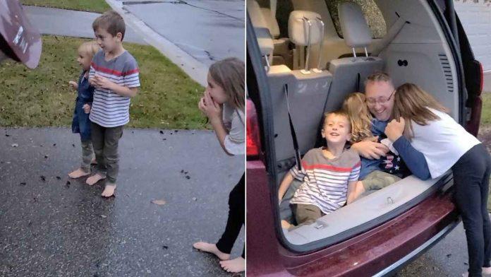 car trunk military surprise