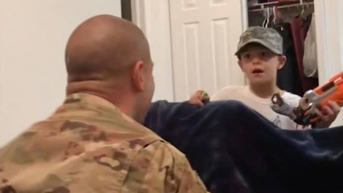 nerf gun war military reunion